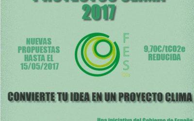 Convocatoria de Proyectos Clima 2017