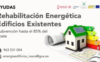 AYUDAS REHABILITACIÓN ENERGÉTICA EN EDIFICIOS EXISTENTES
