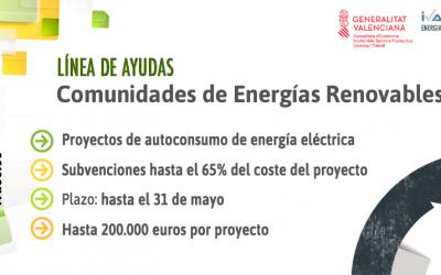 COMUNIDADES ENERGÍAS RENOVABLES 2021. INSTALACIONES AUTOCONSUMO ENERGÍA ELÉCTRICA
